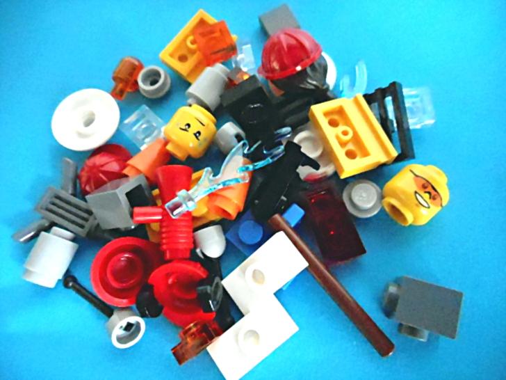 レゴ シティ 解体工事スタートセット 60072 パーツ1