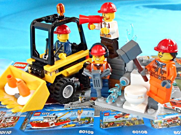 レゴ シティ 解体工事スタートセット 60072 コーン