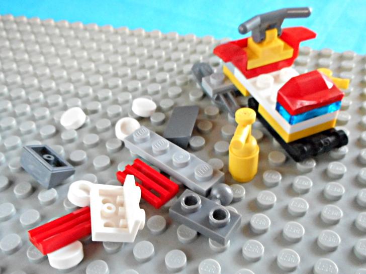 レゴ 60133 ブレードの開封