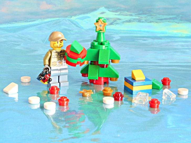 レゴ 60133 おじさんとクリスマスツリー