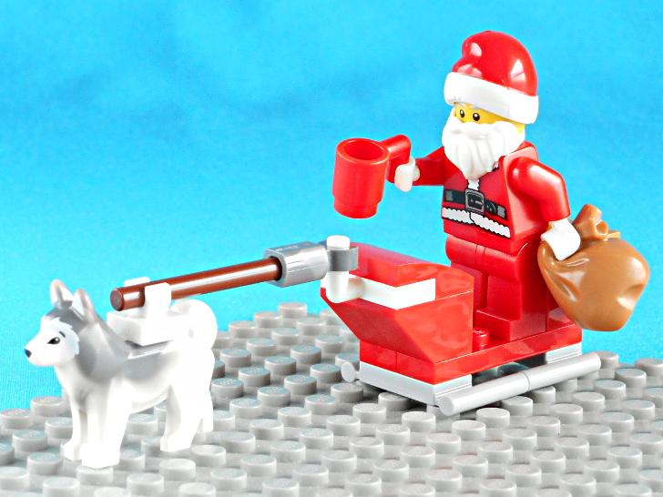レゴ 60133 サンタクロースの犬ぞり