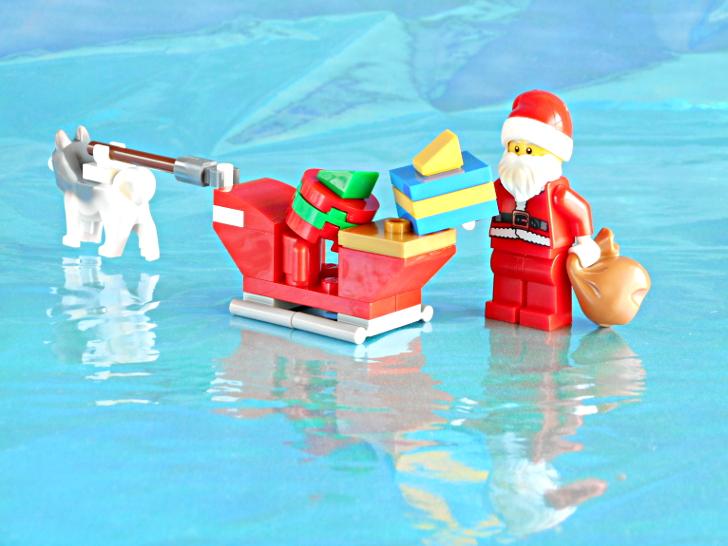 レゴ 60133 サンタクロースとプレゼントとソリ