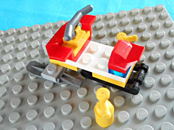 レゴ 60133 除雪機の完成