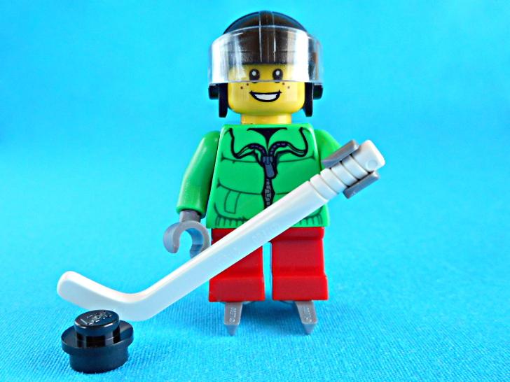 レゴ 60133 アイスホッケー少年のミニフィグ