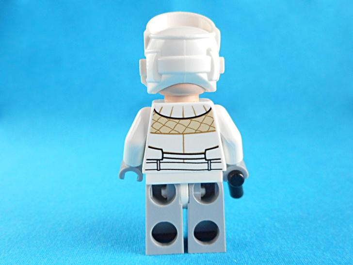 レゴ 75146 Hoth Rebel Trooperの後姿
