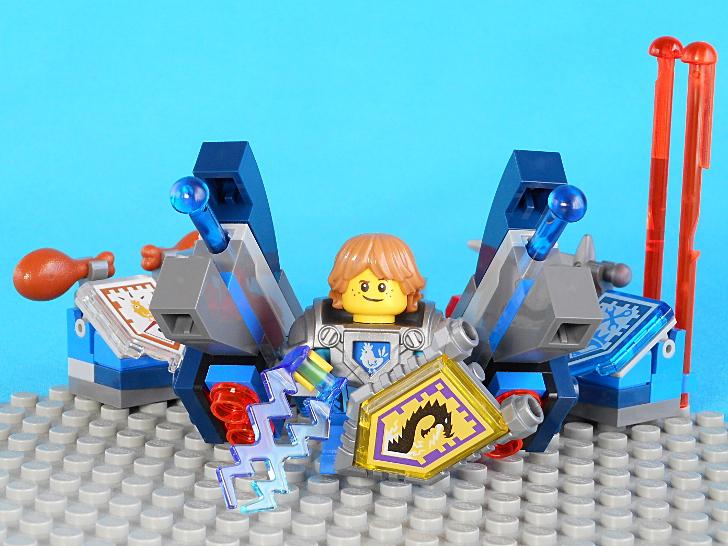 レゴ 70333 青い弾と雷撃