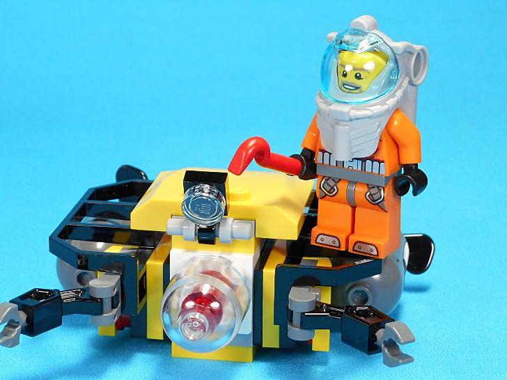 海底探査ロボットのライト
