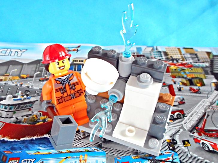 レゴ シティ 解体工事スタートセット 60072 トイレ