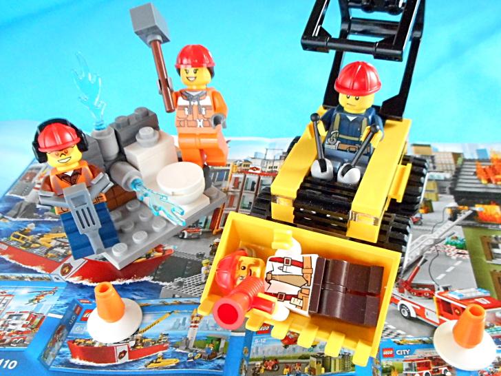 レゴ シティ 解体工事スタートセット 60072 バケット