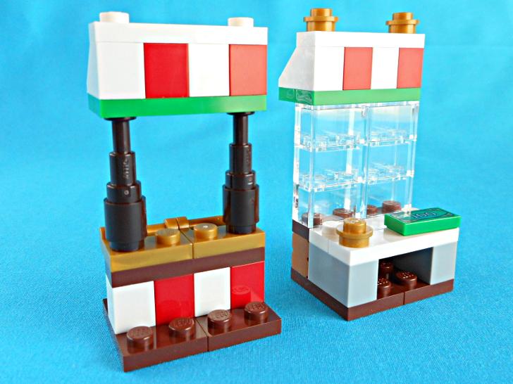 レゴ 60133 クリスマスマーケットの露店