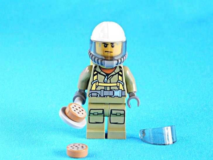 レゴ 60133 火山調査員とクッキー