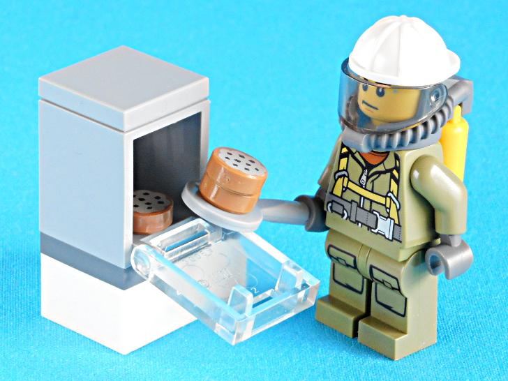 レゴ 60133 火山調査員とオーブンとクッキー