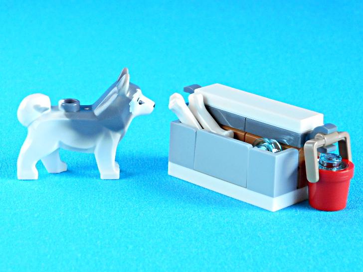 レゴ 60133 犬と骨と水