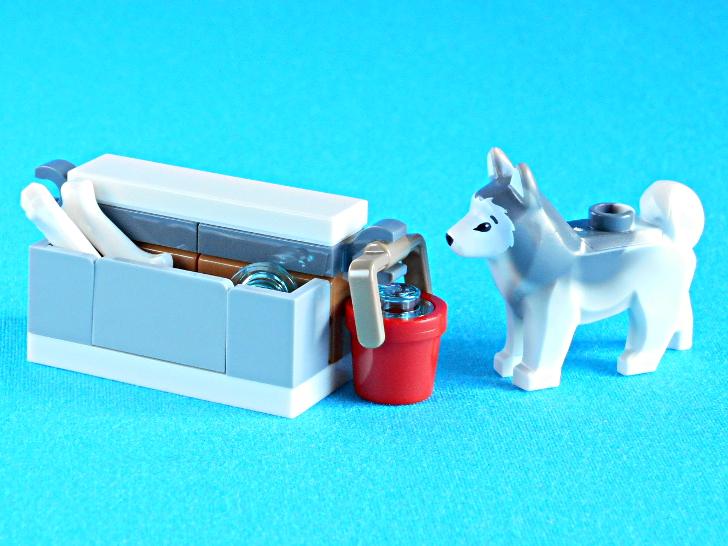 レゴ 60133 犬とおやつと水