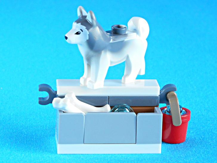 レゴ 60133 犬とおやつとバケツ