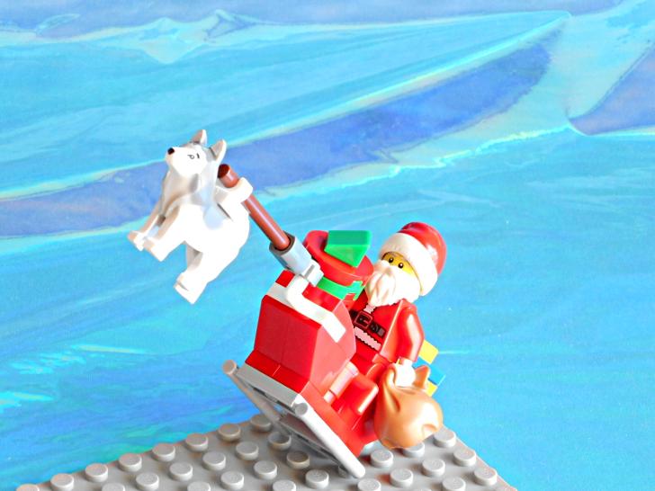 レゴ 60133 サンタクロースが空を飛ぶ