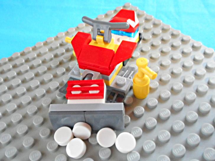 レゴ 60133 ブレードを動かす