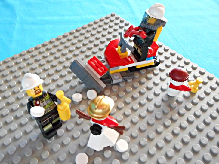 レゴ 60133 除雪機で雪だるま
