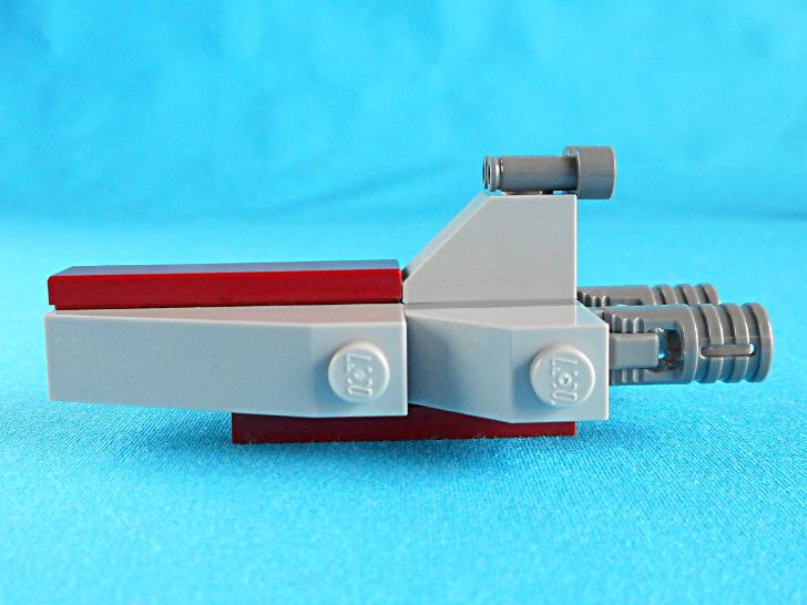 レゴ 75146 共和国スター・デストロイヤーの側面