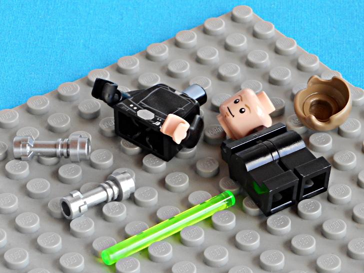 レゴ 75146 ルーク・スカイウォーカーの開封