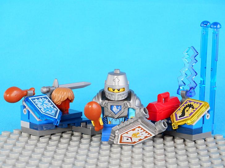 レゴ 70333 鎧兜と骨付き肉