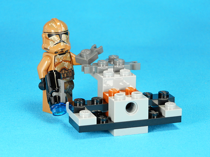 レゴ 75089 ウォーカーを組み立てる