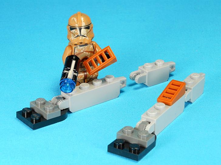 レゴ 75089 ウォーカーの足