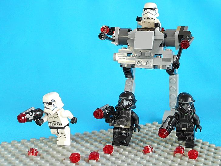 レゴ 75165 インペリアル・ウォーカーが完成