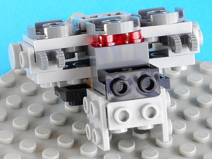 レゴ 75165 操縦席の別アングル