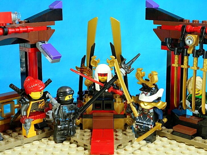 レゴ ニンジャゴー 70651 闇の玉座の総評