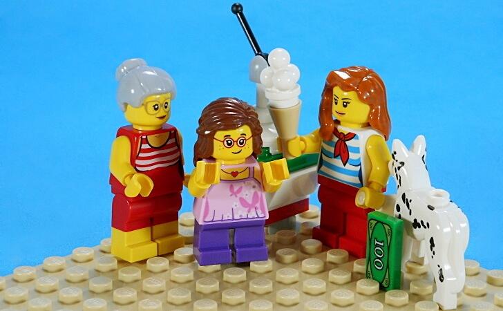 見事なアイスクリーム