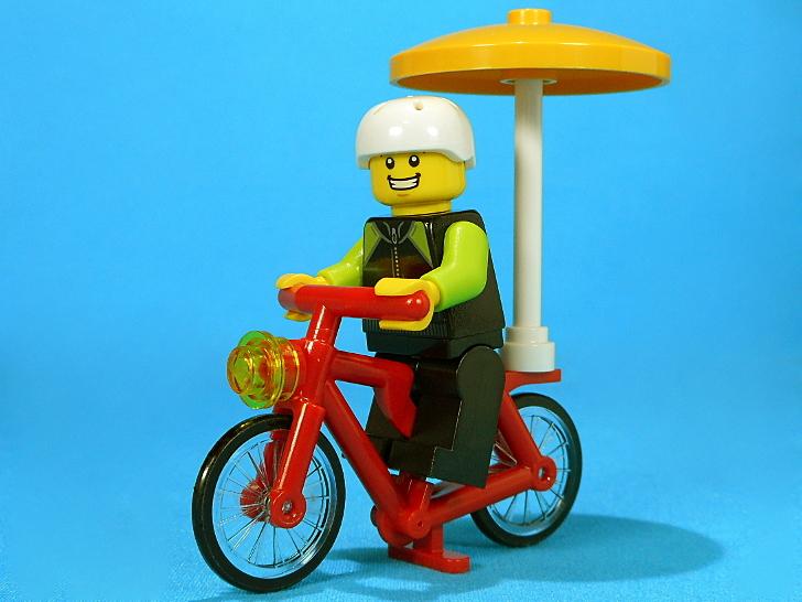 自転車の荷台