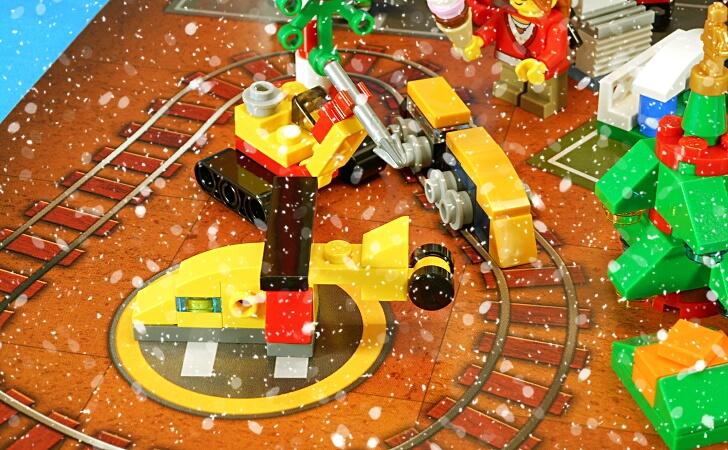レゴ 新幹線とヘリコプター
