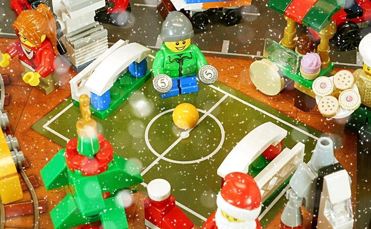 レゴ 球技場の少年