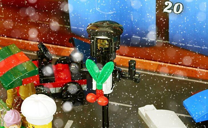 クリスマスの街路灯
