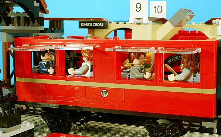 客車の側面