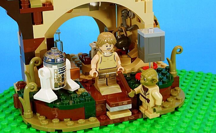 レゴ ヨーダの小屋をレビュー