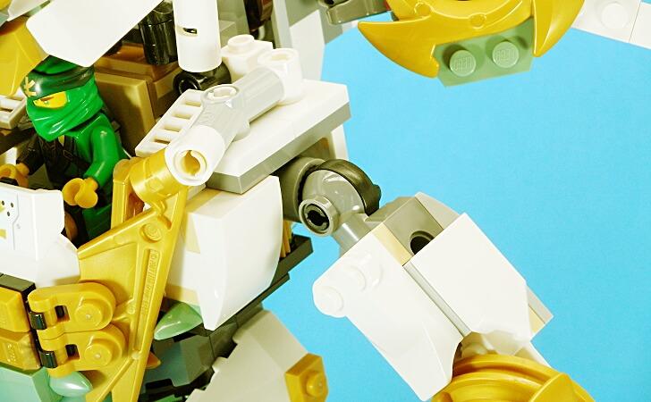 レゴ 巨神メカの肩関節