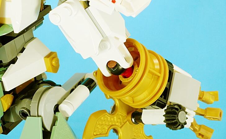 レゴ 巨神メカの肘関節