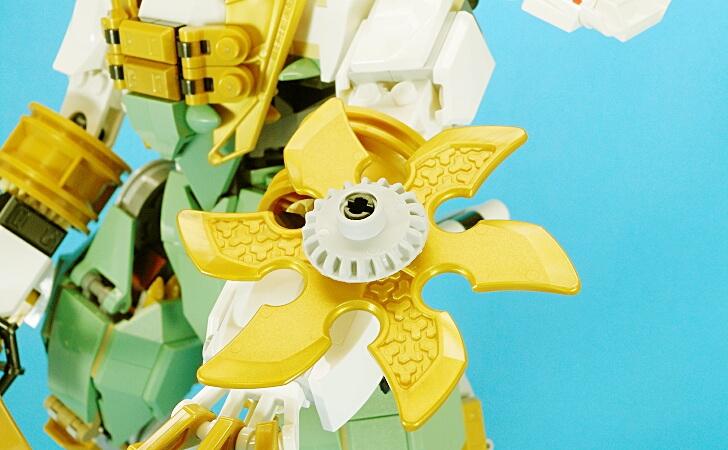 レゴ 巨神メカの手裏剣スライサー