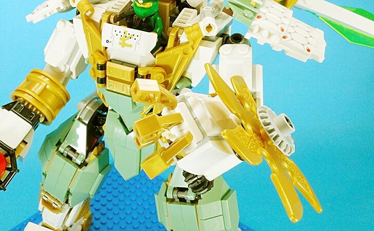 レゴ 巨神メカの指