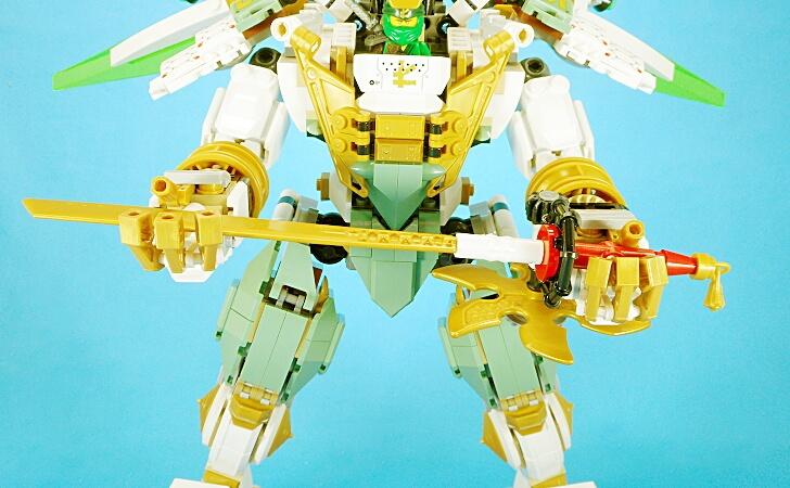 レゴ 巨神メカの日本刀