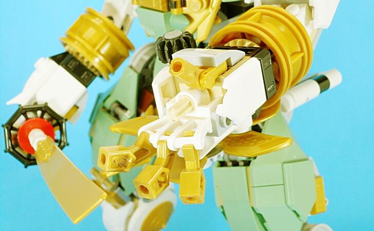 レゴ 巨神メカの手のひら