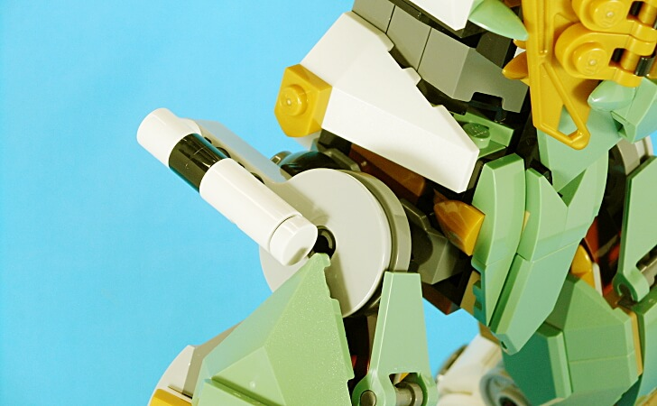 レゴ 巨神メカの股関節