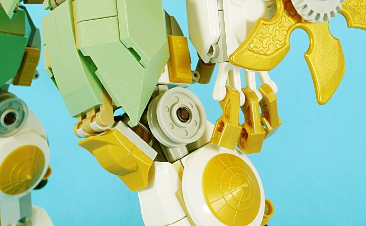 レゴ 巨神メカの膝関節