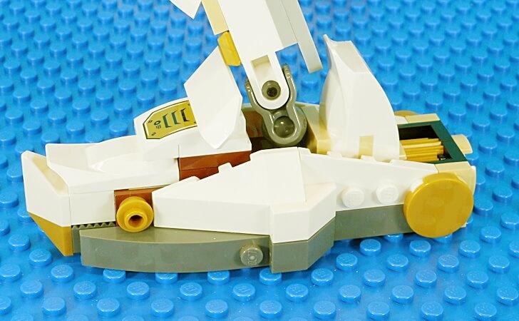 レゴ 巨神メカの足首