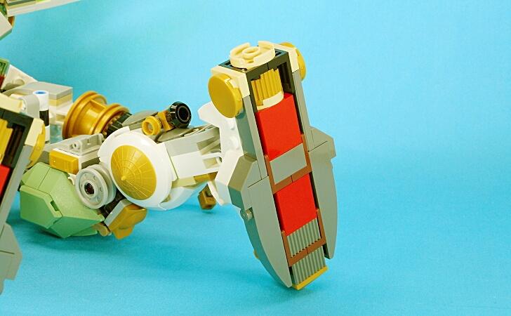 レゴ 巨神メカの足裏