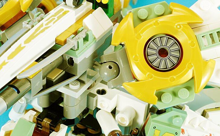 レゴ タイタンウィングのボールジョイント