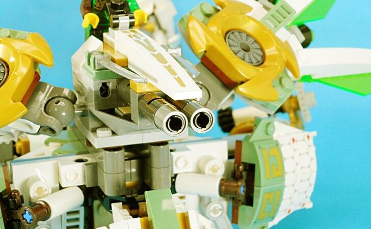 レゴ タイタンウィングの機関砲