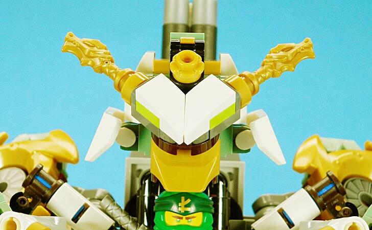 レゴ 巨神メカの顔